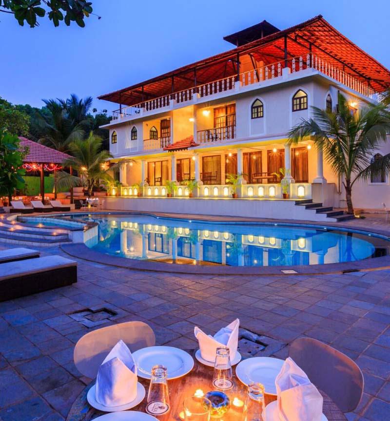 resorts in north goa