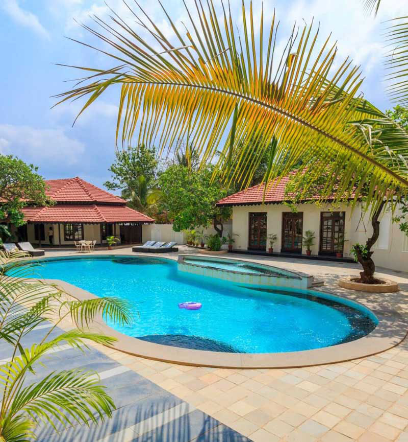 resorts in north goa with private beach