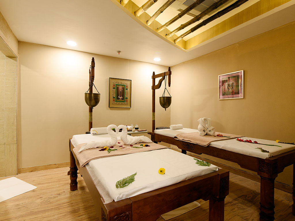 hotel with swimming pool in Mussoorie