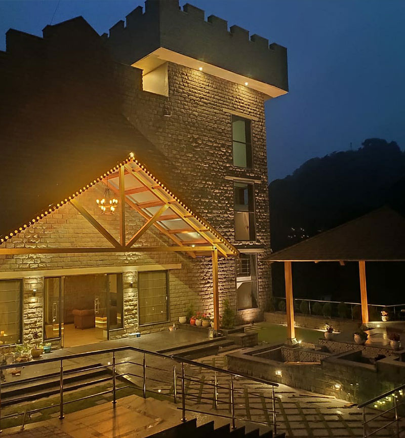 best resorts in Kasauli