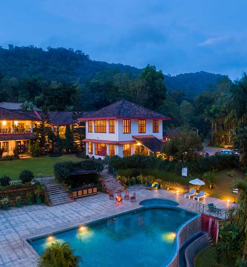 honeymoon resorts in coorg amritara
