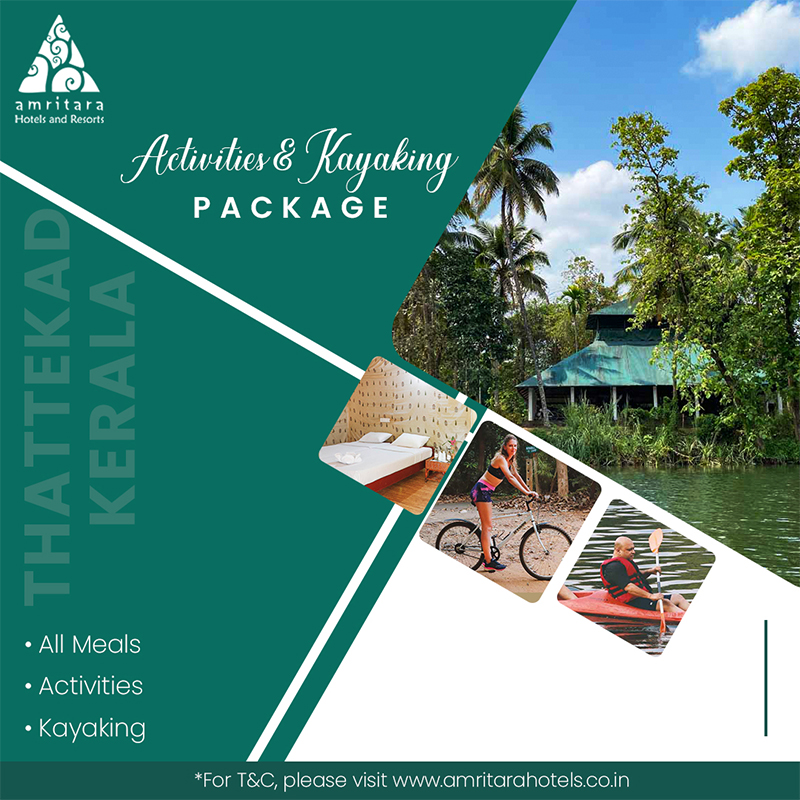 Activities & kayaking Package