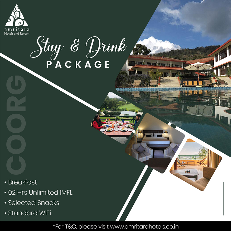 Stay & Drink Package